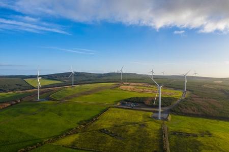 Amazon renewable energy wind turbines