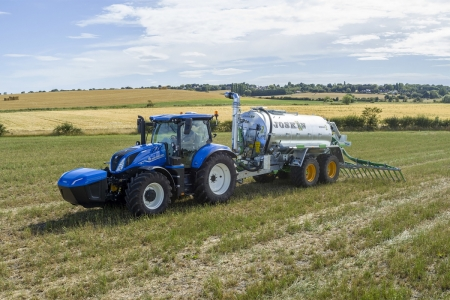 New Holland's methane-powered tractor
