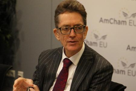 Artur Runge-Metzger discusses COP21 with AmCham EU